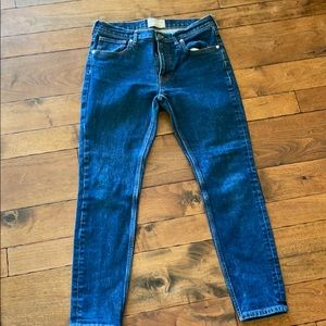 Everlane blue jeans
